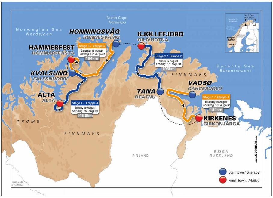 summer challenges arctic race of norway