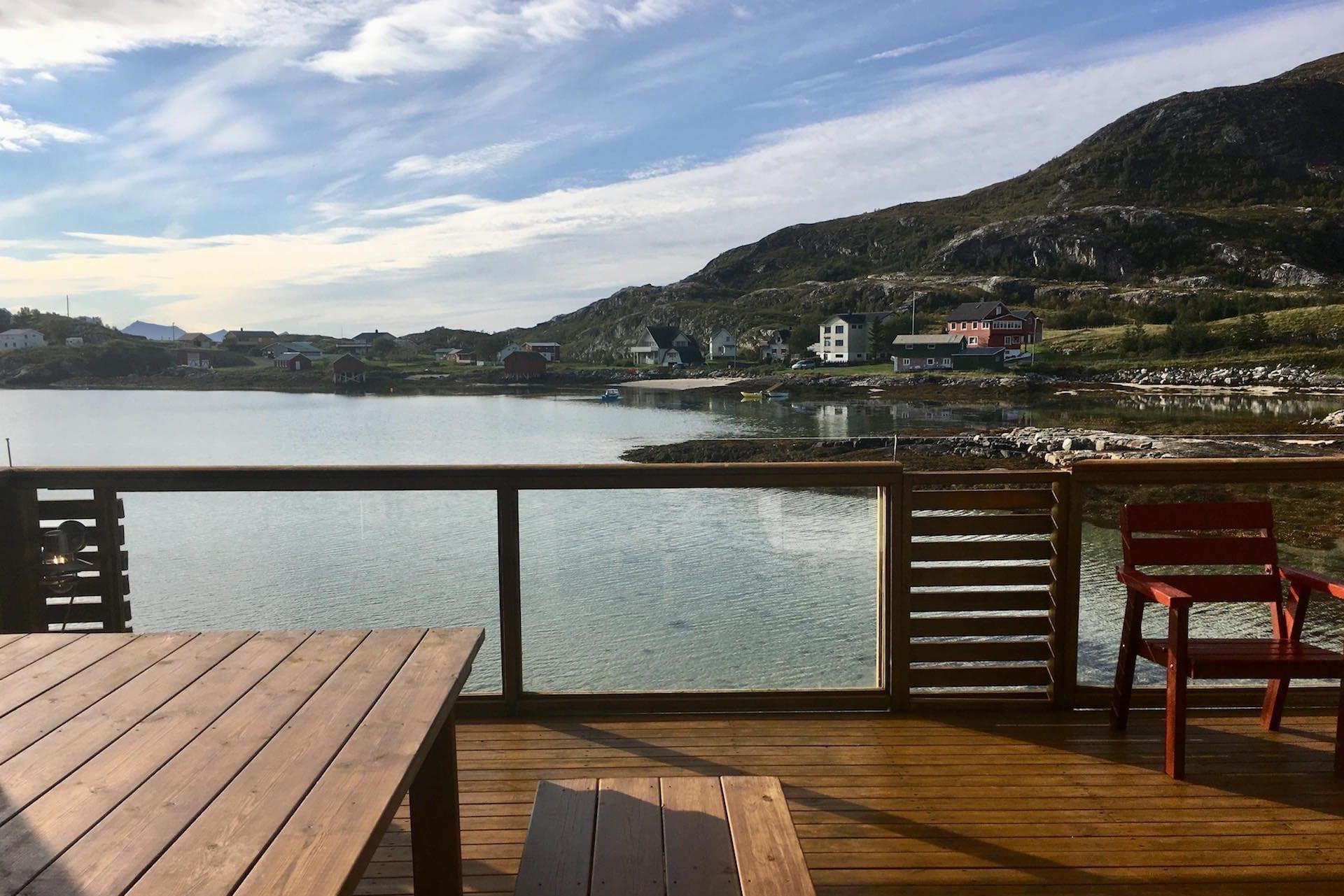 Sommarøy Cottage Balcony