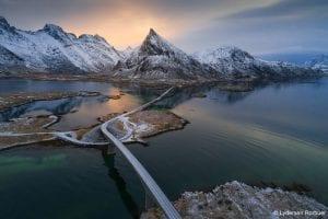 Lydersen Lofoten landsacpe highway