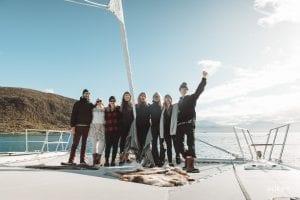 Arctic Fjord Sailing