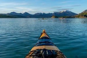 kayaking tromso summer