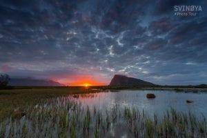 sunset in svolvær lofoten photo tour norway autumn
