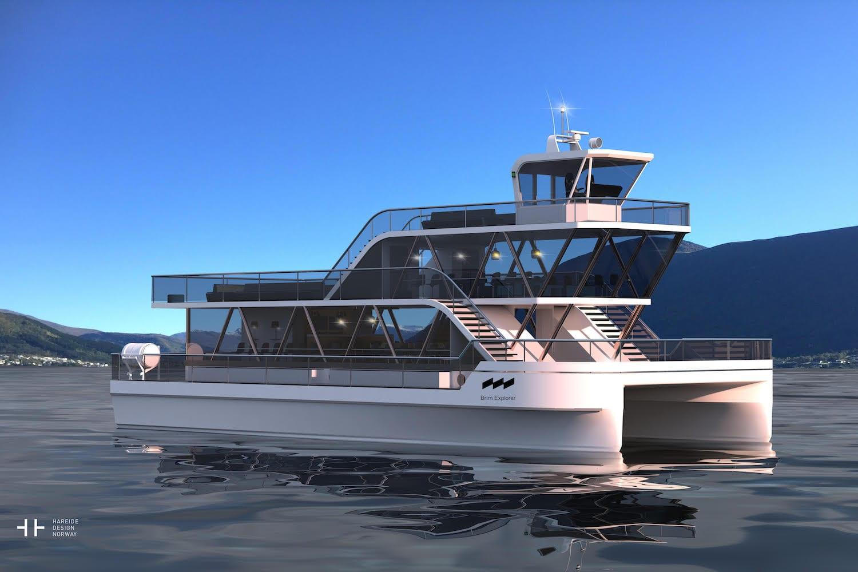 Brim Explorer MS Brim eco friendly boat ship Tromso