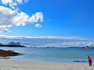 Hamn i Senja Archipelago sea
